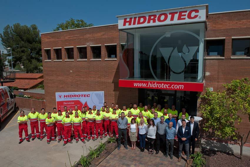 Inauguración de las nuevas instalaciones de Hidrotec en Rubí