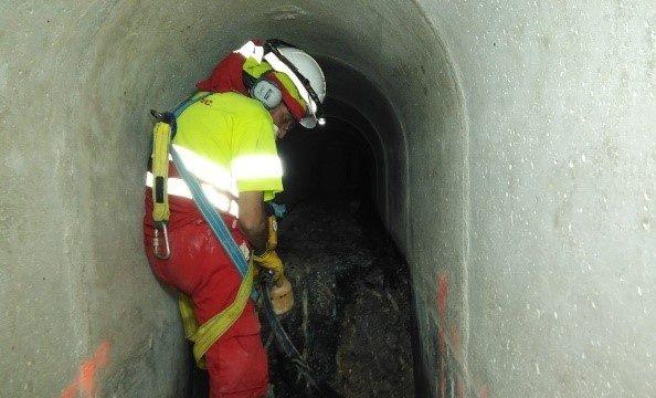 Trabajos especiales en espacios confinados hidrotec