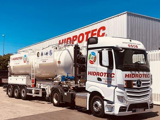 Camión de transporte de gran capacidad