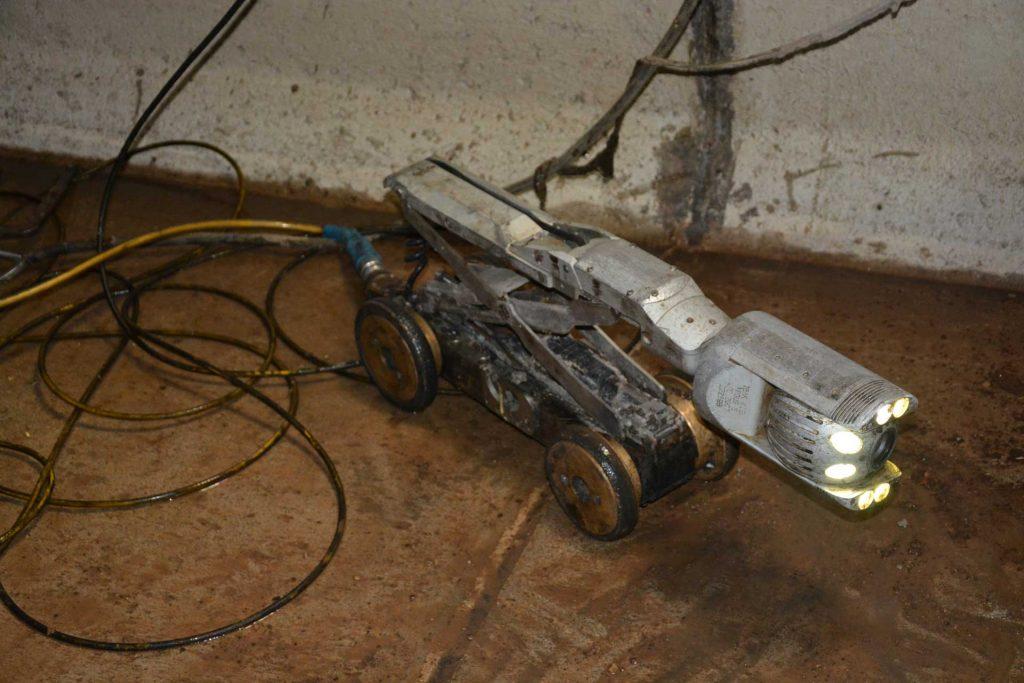 cámara inspección robotizada